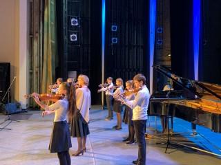 Отчетный концерт 2020 года, посвященный 75-летию Победы в ВОВ