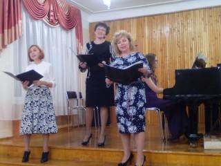 Концерт хорового отделения, посвященный